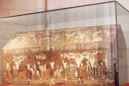 "Fig. 1- Arca ""mosaica"" de San Isidro. ca. 1213."