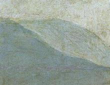 """Fig. 4b-Detalle de la sucesión de lomas en """"Baile a Orillas del Manzanares"""" de Goya."""