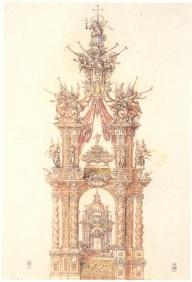 Fig. 2- Sebastián Herrera Barnuevo- Baldaquino de San Isidro.