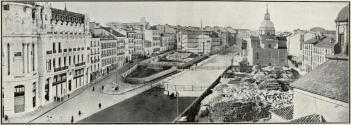 Derribos acometidos en Madrid para crear la Gran Vía