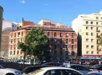 Fachada a la calle Santa Isabel del edificio Marqués de Villamejor
