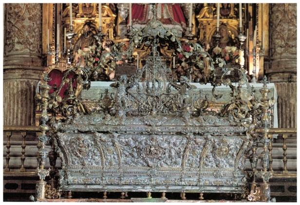 Juan José Carpio: Arca de plata de San Fernando.