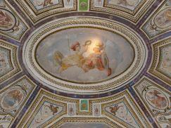 Cincinnato: Detalle de la bóveda de la Saleta de los Héroes del Palacio del Infantado. 1578-1580.
