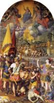 Cincinnato: Martirio de San Mauricio. Monasterio de El Escorial.