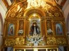 Vista del retablo del Cristo de la Misericordia en Herencia, Ciudad Real