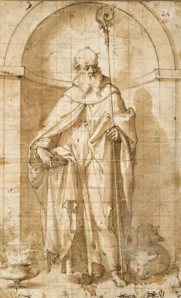 Cincinnato: San Antonio Abad. Museo Nacional del Prado.