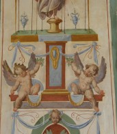 Frescos realizados en torno a 1572-1585 en la Sala de los Mapas de los Palacios Vaticanos