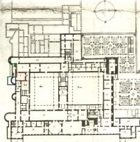 """Fig. 2- Teodoro Ardemans: """"Plano del Alcázar de Madrid"""", 1705."""