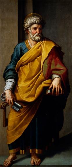 Fig. 4. Cincinnato: San Pedro, 1572-1573. Madrid, Real Academia de Bellas Artes de San Fernando.