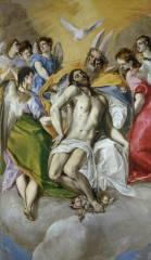 El Greco- La Trinidad. Museo Nacional del Prado, Madrid.