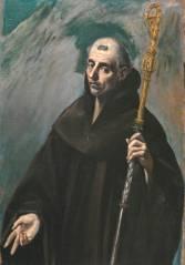 El Greco- San Benito. Museo Nacional del Prado, Madrid