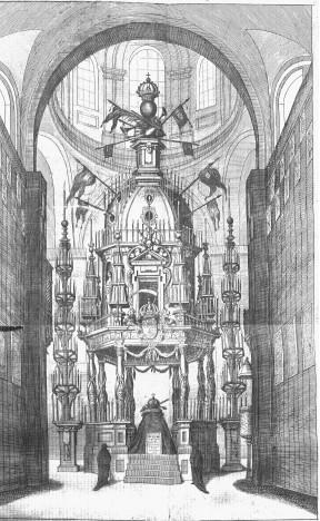 Sebastián Herrera Barnuevo: Túmulo funerario de Felipe IV.