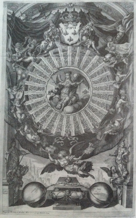 Gregorio Fosman: Alegoría de la vida y muerte de María Luisa de Orleáns.