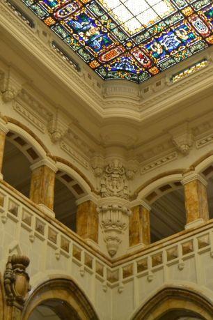 Detalle decorativo de la escalera. Foto Jesús C.V.