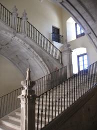 Escalera Imperial del Monasterio de Ucles, Cuenca.