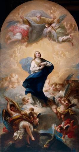 Mariano Salvador Maella: Inmaculada Concepción. Museo del Prado.