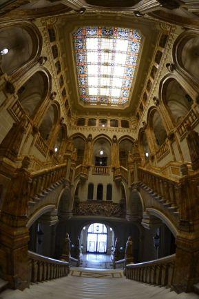 Vista general de la escalera. Foto Jesús C.V.