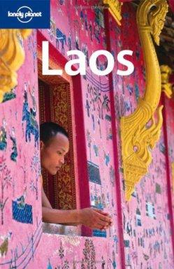 Portada de la Lonely Planet de Laos, 2010.