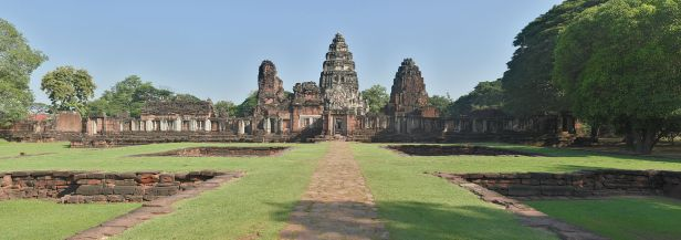 Vista general de Phimai