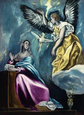 El Greco- La Anunciación