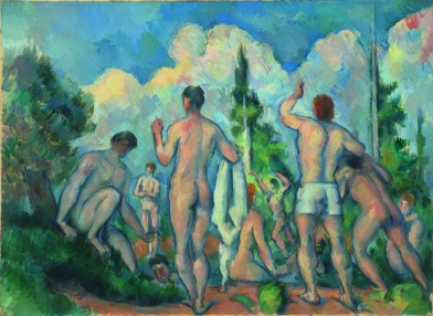 Paul Cézanne- Bañistas