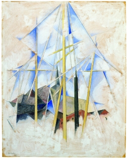 Charles Demuth- Cielo Según el Greco