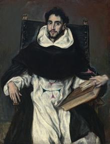 El Greco- Fray Hortensio Félix de Paravicino