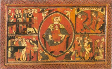 Ejemplo de pinturna al Temple