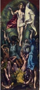El Greco- La resurreción de Cristo