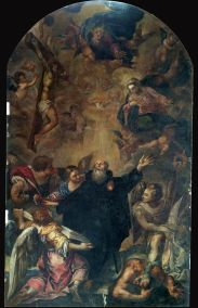 Sebastián Herrera Barnuevo: Triunfo de San Agustín (foto IPCE)