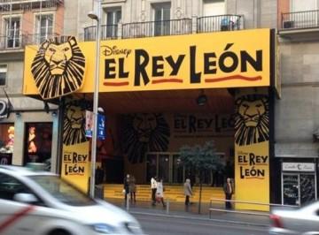 Vista actual del Lope de Vega, convertido en teatro para musicales