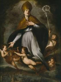 Andrea Vaccaro: Exaltación de San Genaro. Museo Nacional del Prado.