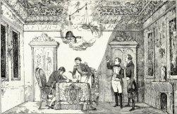 Vicente Urrabieta y Ortiz: Tratado de Fontainebleau, 1807. Colección Artelio, Pamplona.