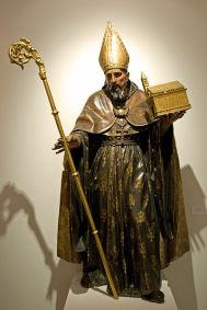 Dionisio de Ribas: San Agustín. Iglesia de San Leandro, Sevilla.