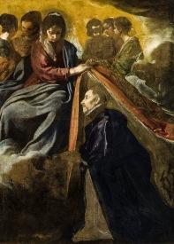 Diego Velázquez: Imposición de la Casulla a San Ildefonso. Ayuntamiento de Sevilla.