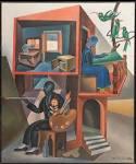 Fortunato Depero: Lo e mia moglie, 1919