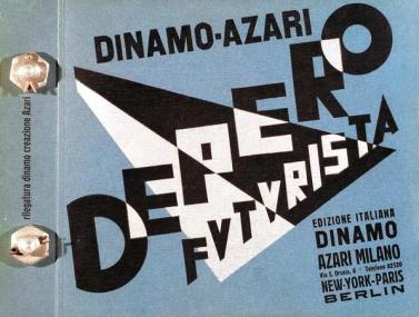 Fortunato Depero: Libro Bullonato di Fortunato Depero