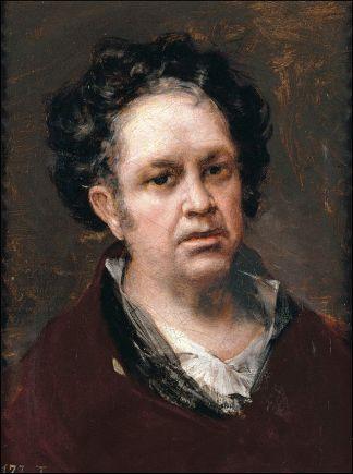 Francisco de Goya: Autorretrato. Museo Nacional del Prado.