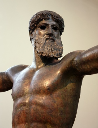 Poseidón Artemisón. Museo Arqueológico de Atenas