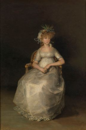 Francisco de Goya: La Condesa de Chinchón. Museo Nacional del Prado