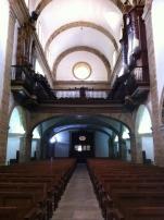 Interior del templo renacentista