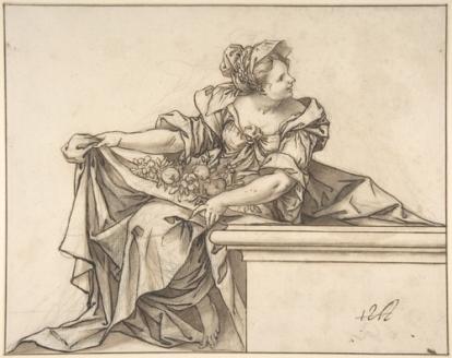 Sebastián Herrera Barnuevo: La Abundancia o el Verano. Metropolitan Museum, New York.