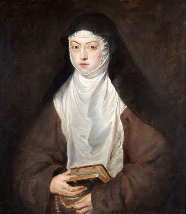 Rubens-Retrato de Sor Ana Dorotea, Descalzas Reales