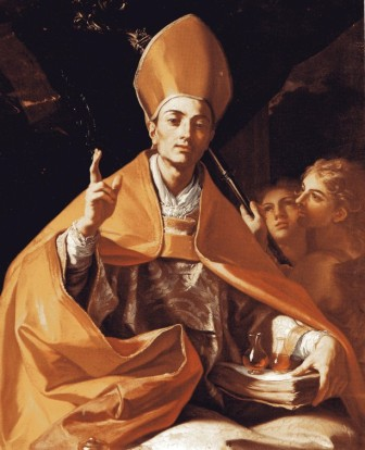 Francesco Solimena: San Genaro. Capilla del Tesoro, Nápoles
