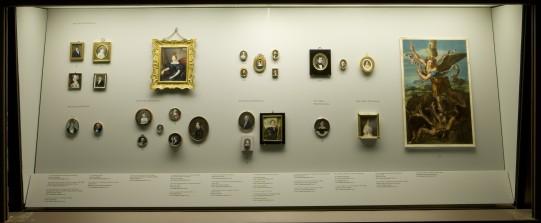 Las miniaturas en el Museo del Prado. Sala de Exposición, junio 2013.