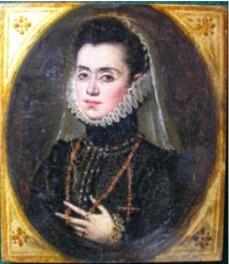Rolán Moys: Isabel de Silva y Portocarrero (¿?), c.1578. Colección Muñoz.