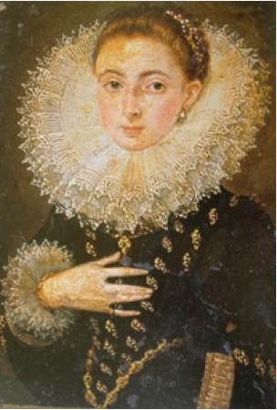 Juan Pantoja de la Cruz: Doña Luisa Martínez de Lara, c.1605. Instituto Valencia de Don Juan, Madrid.