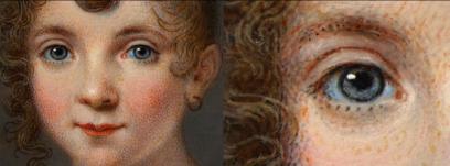 Dechateaubourg: Retrato de niña. Museo Nacional del Prado, Madrid.