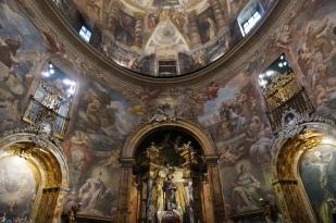 Carreño, Rizi y Giordano: Fresco de la Iglesia de San Antonio de los Alemanes, Madrid.