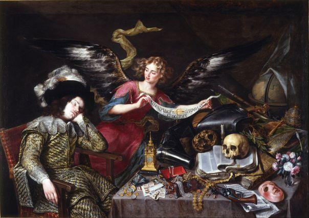 Antonio de Pereda: El sueño del Caballero. Real Academia de Bellas Artes de San Fernando, Madrid.